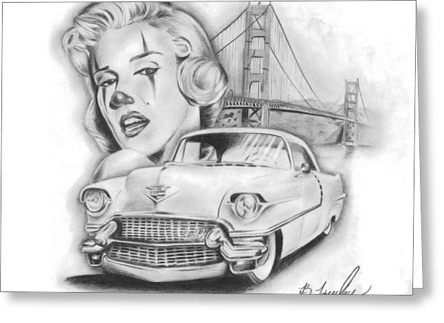 California Dreamin Greeting Card