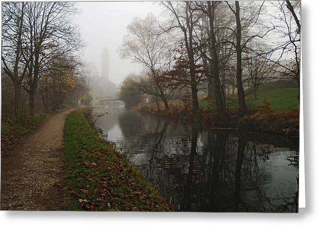 Canal 2 Greeting Card by Steve Watson