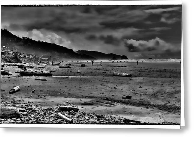 Cannon Beach Oregon Greeting Card