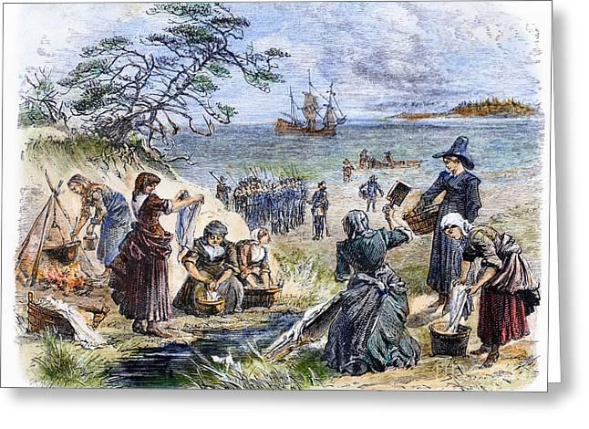 Cape Cod: Pilgrims Greeting Card