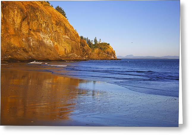 Cape Disappointment Lighthouse Ilwaco Greeting Card