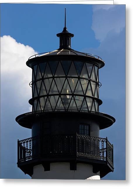 Cape Florida Lighthouse Greeting Card by Ed Gleichman