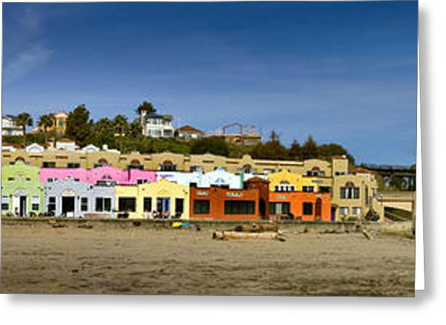 Capitola Beach Greeting Card by Joe  Palermo