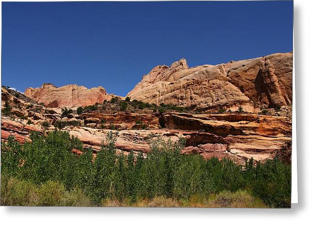 Captial Reef Greeting Card by Southern Utah  Photography
