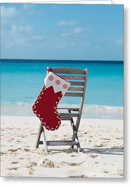 Caribbean Christmas Greeting Card