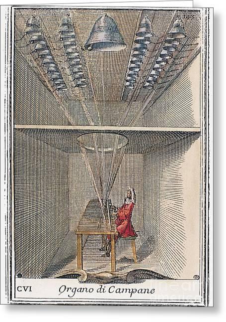 Carillon, 1723 Greeting Card