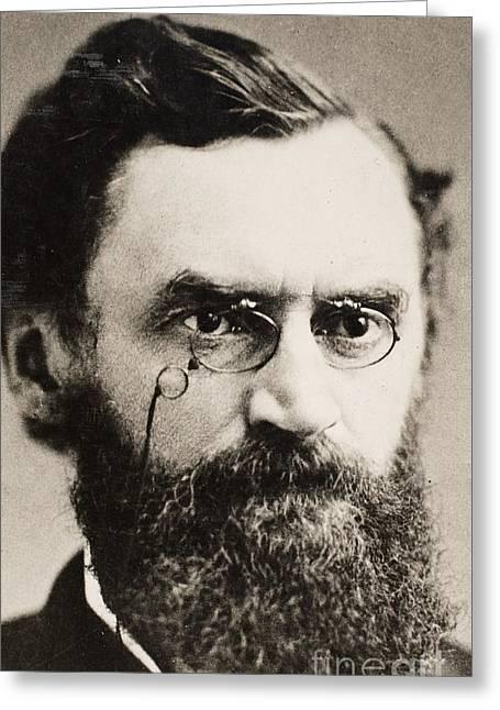 Carl Schurz (1829-1906) Greeting Card by Granger