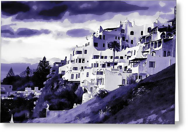 Casa Pueblo Greeting Card by David April
