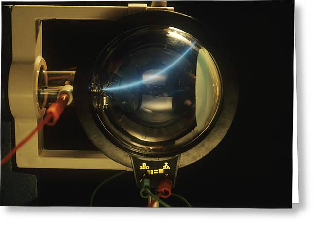 Cathode Ray Tube Greeting Card by Andrew Lambert Photography
