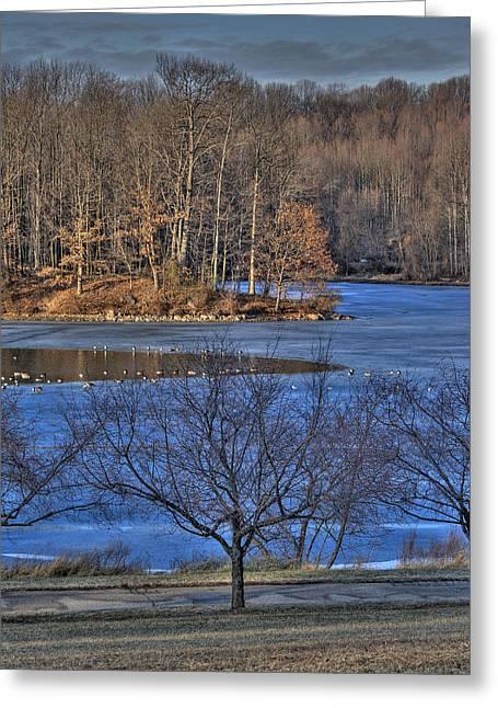 Centennial Lake Greeting Card