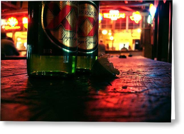 Cervezas Greeting Card