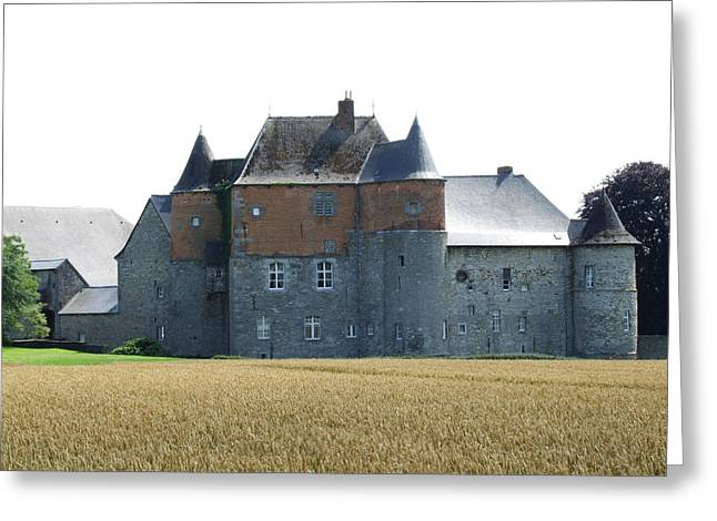 Chateau Fort De Feluy Belgium Greeting Card by Joseph Hendrix