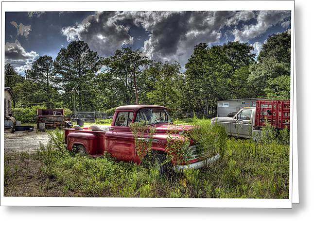 Chevrolet 3200 Greeting Card by Alice Link