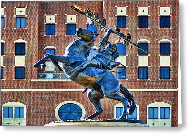 Chief Osceola And Renegade Unconquered Greeting Card by Frank Feliciano