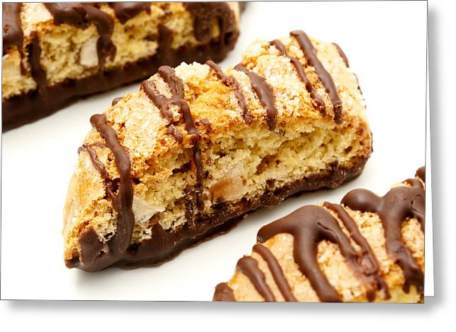 Chocolate Biscotti Greeting Card