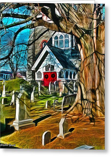 Christ Church Of St Michaels Greeting Card