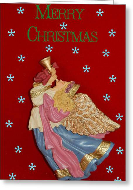 Christmas Angel Greeting Card by Aimee L Maher Photography and Art Visit ALMGallerydotcom