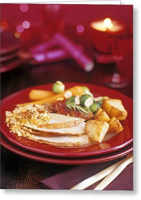 Christmas Dinner Greeting Card