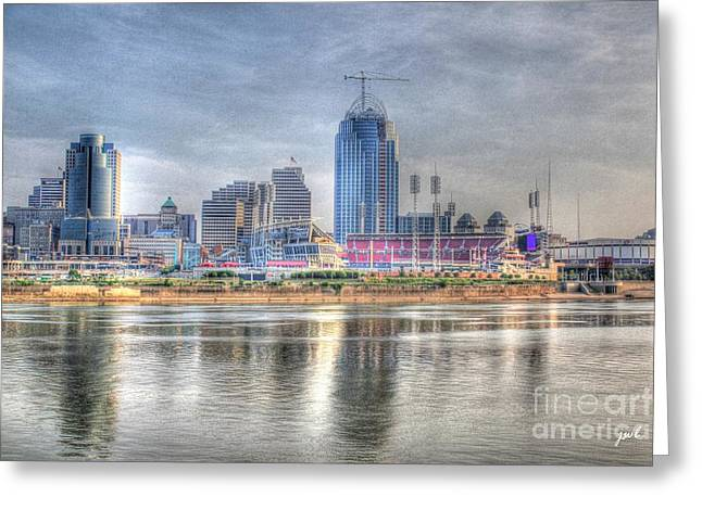 Cincinnati Skyline Greeting Card