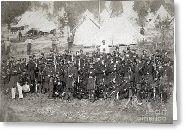 Civil War: Union Troops Greeting Card