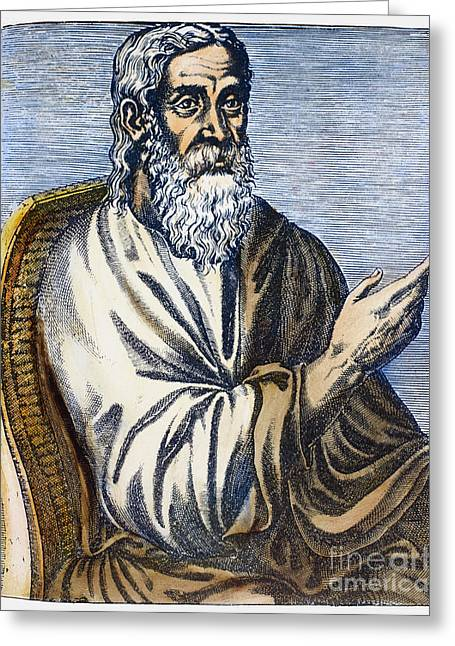 Clement Of Alexandria Greeting Card by Granger