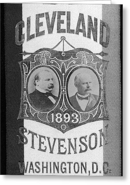 Cleveland: Inauguration Greeting Card by Granger