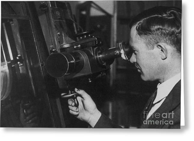 Clyde Tombaugh Greeting Card by Science Source
