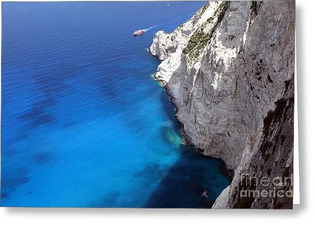 Coast Greeting Card by Milena Boeva