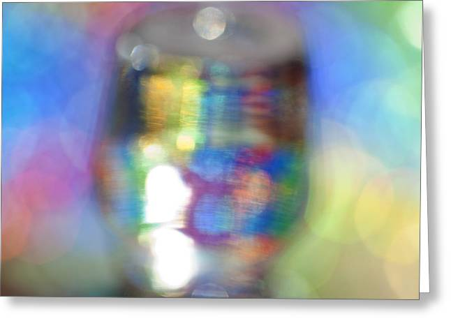 Color Study 2 Greeting Card by Al Hurley