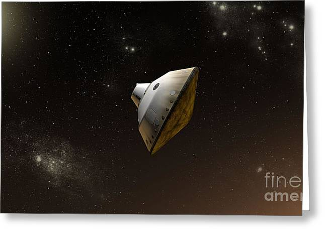 Concept Of Nasas Mars Science Greeting Card by Stocktrek Images