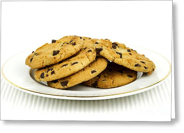 Cookies Greeting Card by Blink Images