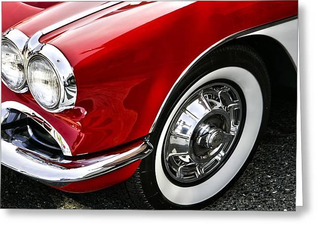 Corvette Beauty Greeting Card by Bill Robinson