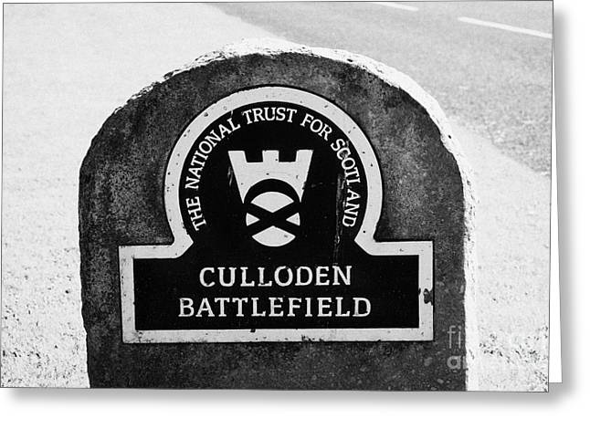 Culloden Moor Battlefield Site Highlands Scotland Greeting Card by Joe Fox
