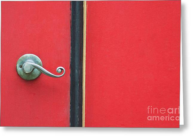 Curly Greeting Card by Dan Holm