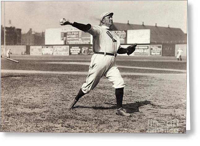 Cy Young (1867-1955) Greeting Card by Granger