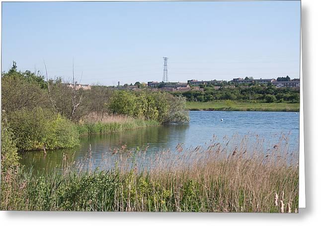 Dartford Marsh Lakes Greeting Card
