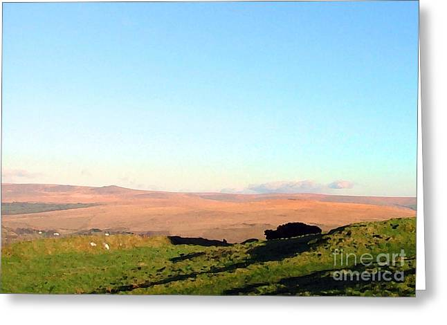 Dartmoor Greeting Card by Ron Telford