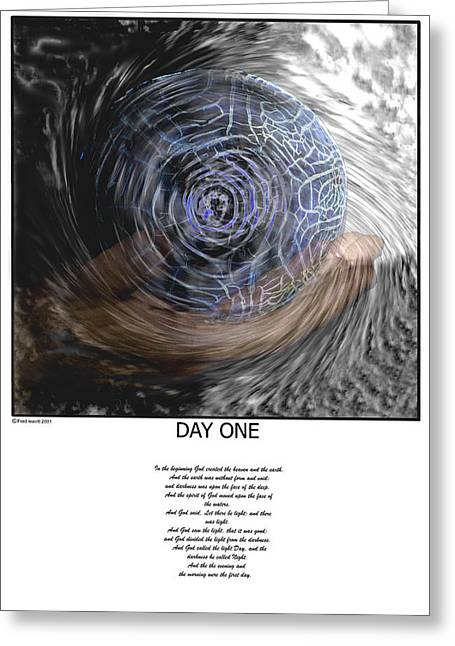 Day One Greeting Card
