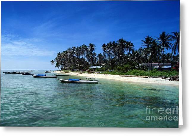 Derawan Island Greeting Card by Antoni Halim