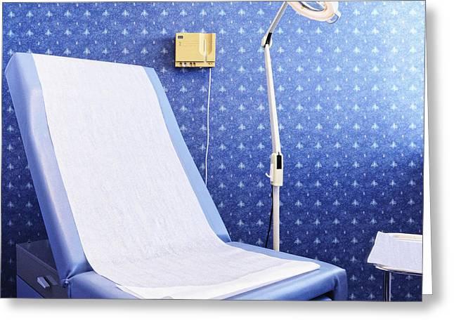 Dermatology Examination Room Greeting Card