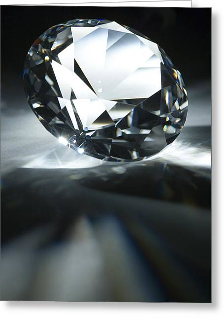 Diamond Greeting Card by Pasieka