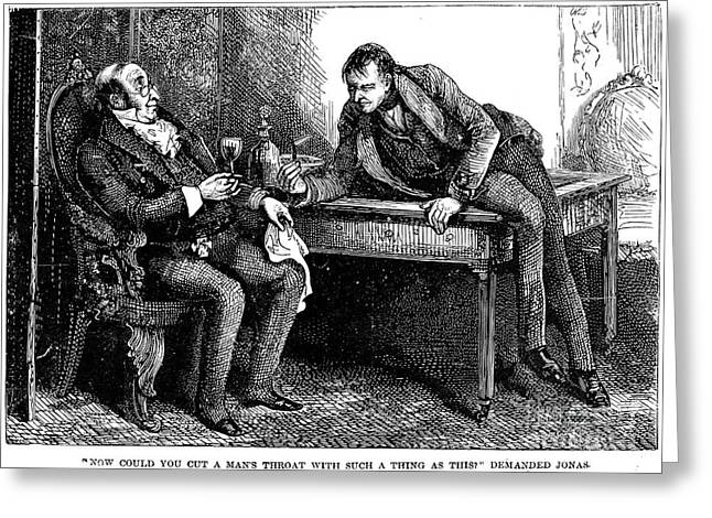 Dickens: Martin Chuzzlewit Greeting Card by Granger
