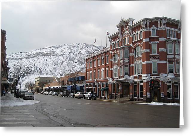 Greeting Card featuring the photograph Durango by Bonnie Goedecke