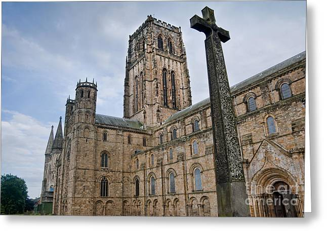 Durham Cathedral Greeting Card by Andrew  Michael