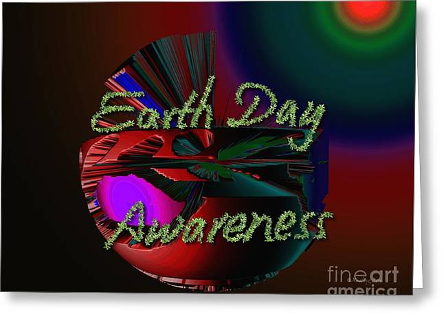 Earth Day Awareness Greeting Card