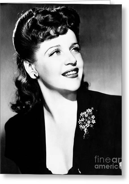 Eleanor Steber (1916-1990) Greeting Card