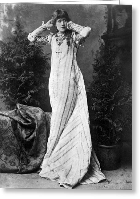 Ellen Terry (1847-1928) Greeting Card by Granger