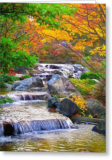 Enjoy Fall ... Greeting Card by Juergen Weiss