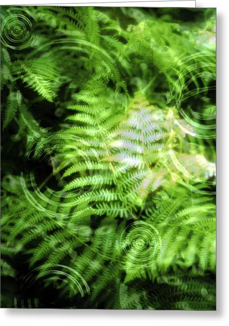 Environmental Care, Conceptual Image Greeting Card by Victor Habbick Visions
