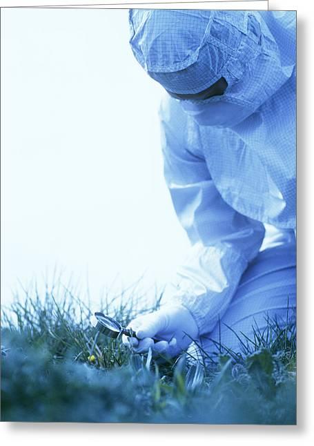 Environmental Contamination Greeting Card